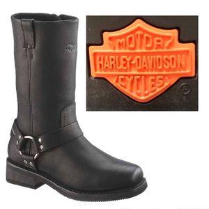 Harley Davidson Bowden Harness Riding Boot